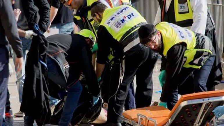 Dos jóvenes palestinos mataron a dos israelíes en la Puerta de Jaffa en Israel.