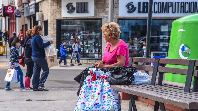 La fiebre de compras navideñas se desató recién esta semana en Comodoro Rivadavia.