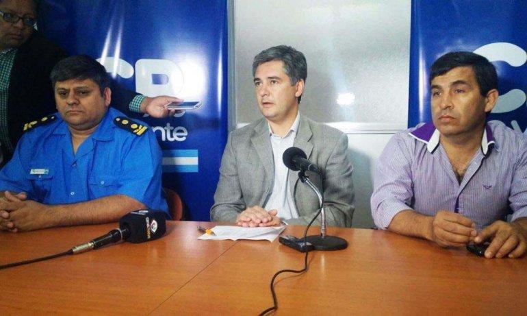 Autoridades municipales y policiales anunciaron cómo serán los controles de Nochebuena y Navidad.