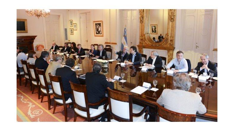 Macri encabeza la última reunión de Gabinete previo a sus vacaciones