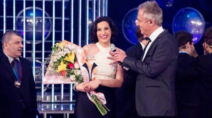 Diana Amarilla brilló en la final y ganó Tu cara me suena