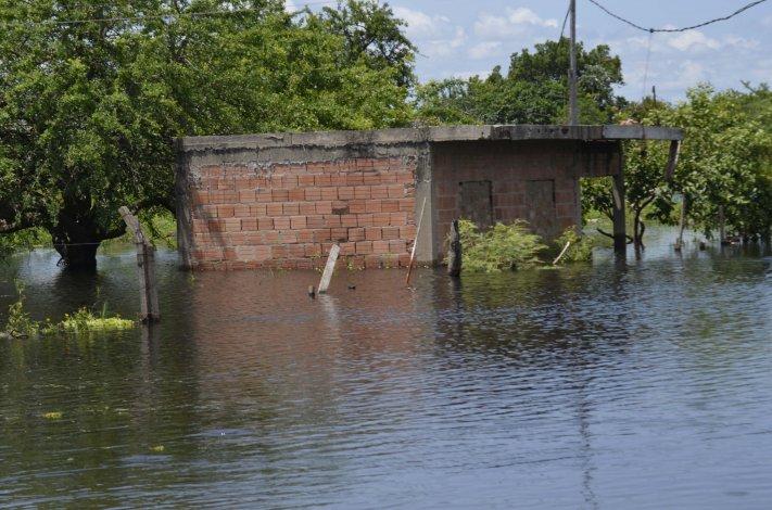 Frigerio sostuvo que la ayuda vendrá cuando el agua baje