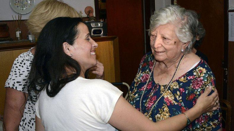El jueves Chicha Mariani se reunió con María Elena Wehrli