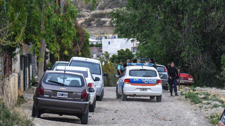 El incidente familiar que alertó a los efectivos policiales en barrio Laprida se registraron el viernes.