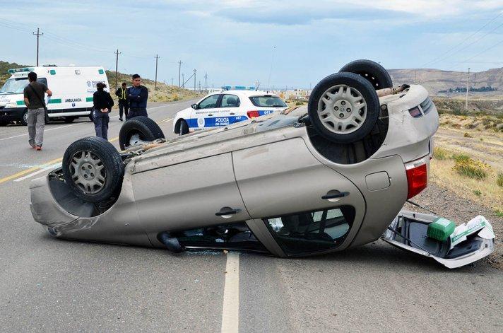 El nuevo vuelco sobre la ruta Provincial 39 se registró ayer a las 13 con el saldo de un hombre herido.