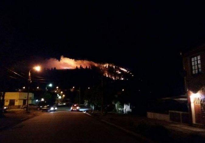 Se quemaron tres hectáreas en Esquel después de las fiestas