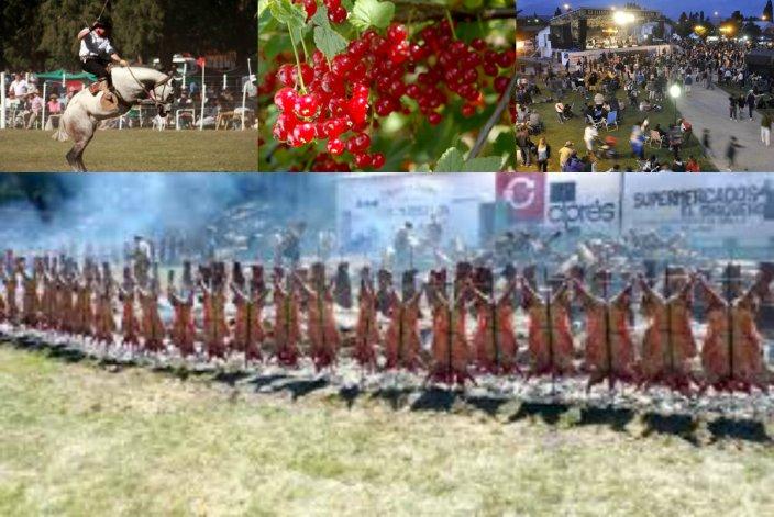 Chubut  prepara  13 fiestas populares sólo para enero