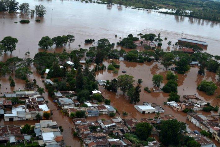 En Rada Tilly reciben ayuda para los inundados del Litoral