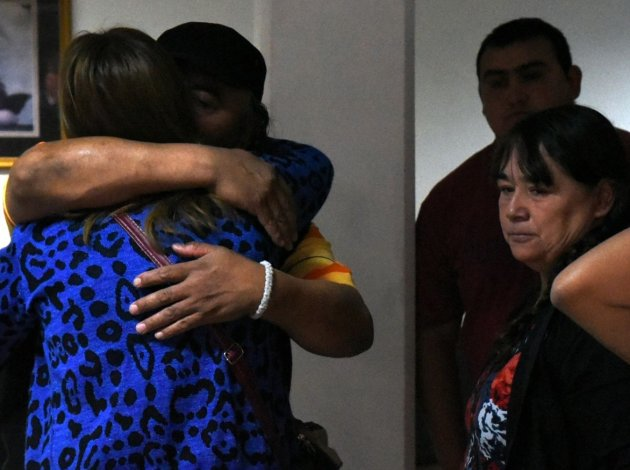 Momentos de angustia y profundo dolor se vivieron en el Hospital Zonal cuando los familiares y amigos de Jorge Garrido fueron anoticiados de su fallecimiento.