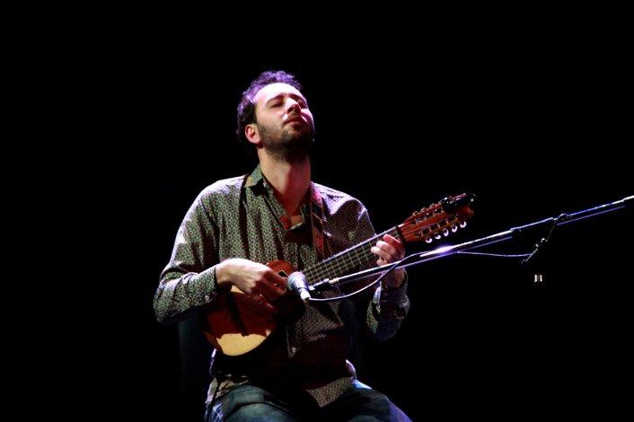 El charanguista Damián Verdún ha tocado junto a artistas de la talla de Franco Luciani