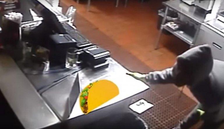 Robaron su restaurante y con el video hicieron una publicidad