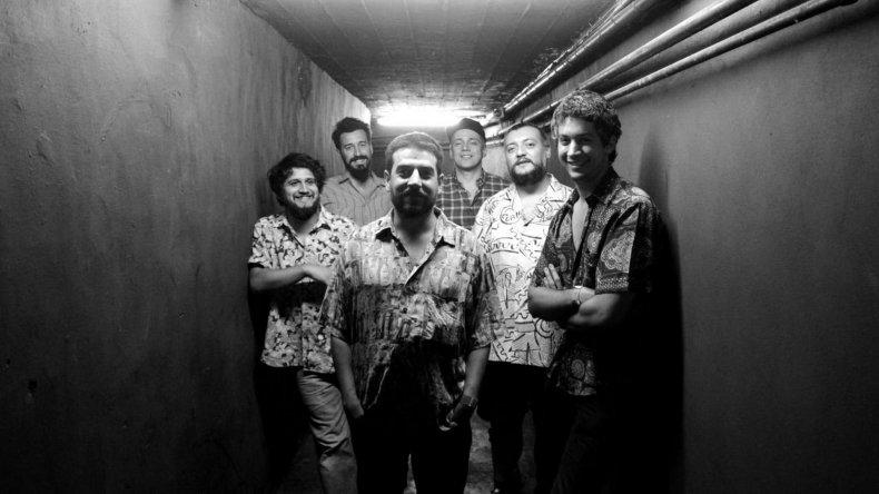 Los Espíritus es una de las bandas argentinas que conforman la grilla del Lollapalooza 2016.