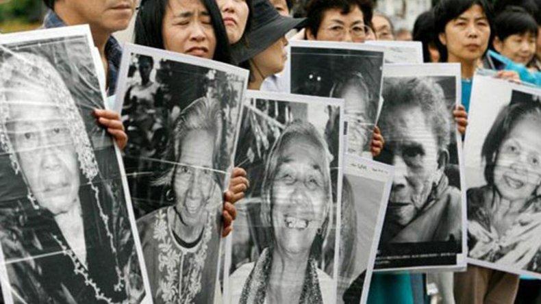 Las llamadas mujeres de confort fueron motivo de protesta durante años en Corea del Sur.