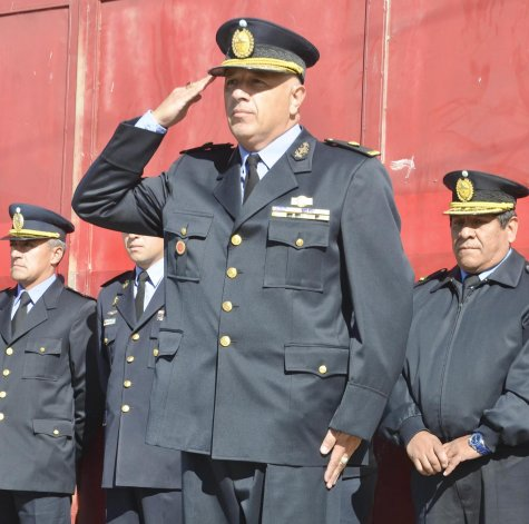 El comisario inspector Dante Jattar Abboud logró mantener una buena relación