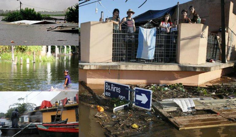 Colecta para los damnificados por las inundaciones