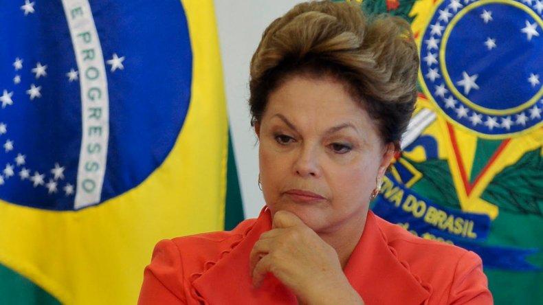 Complicado cierre de año para Dilma Rousseff.