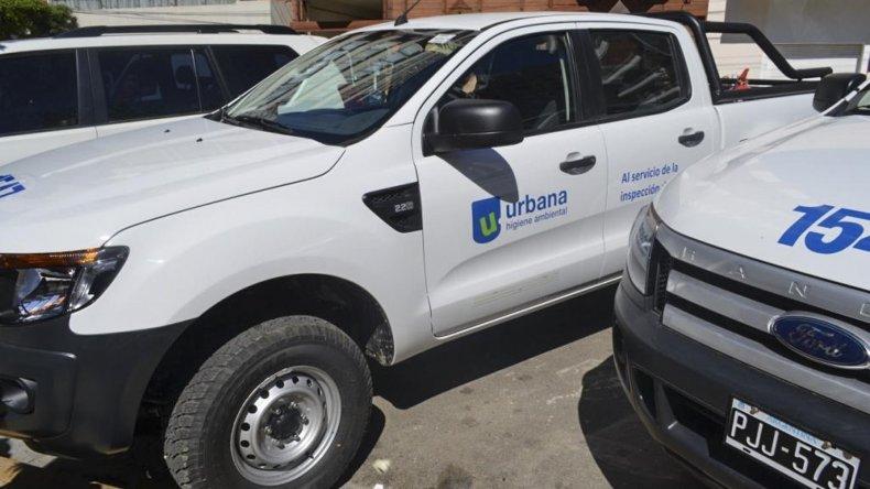 La empresa Clear entregó vehículos para los inspectores de la Subsecretaría de Medio Ambiente.