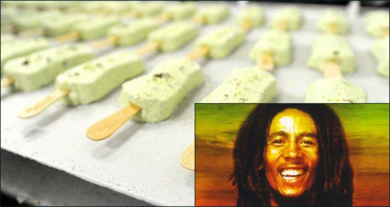 Crean un helado de marihuana en honor a Bob Marley