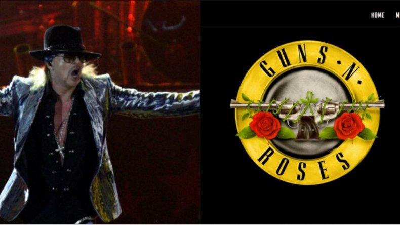 Vuelven los Guns n Roses con su formación clásica