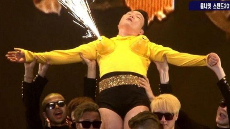 El autor del Gangnam Style cambió de sexo para un show