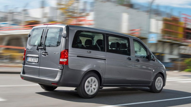 Mercedes Benz venderá en el país todas las versiones de la van Vito