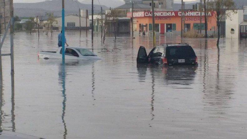 En la zona sur uno de los barrios más afectados por la inundación fue el barrio 30 de Octubre