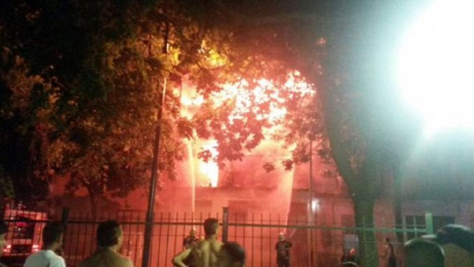 Se incendiaron dos conventillos de La Boca