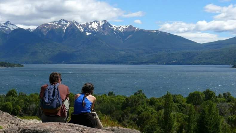 El lago Futalaufquen tiene una profundidad media de 150 metros
