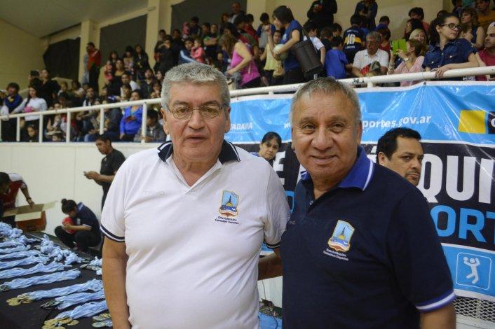 Horacio Bellido y Sixto Márquez