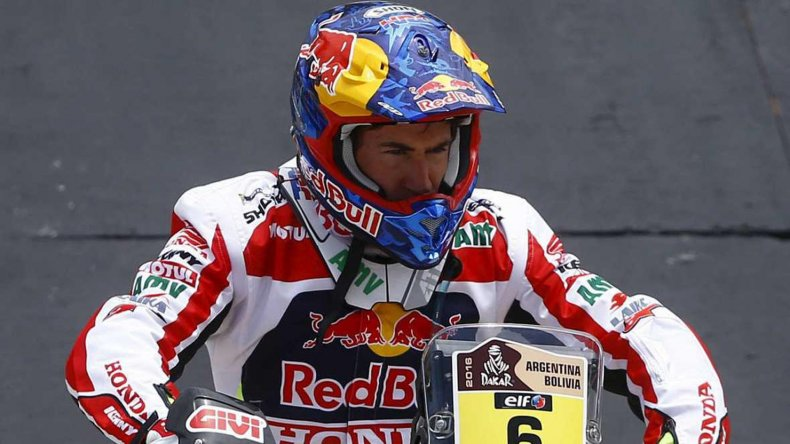 El español Joan Barreda (foto) y el portugués Ruben Faria compartieron el primer puesto del Prólogo en motos.