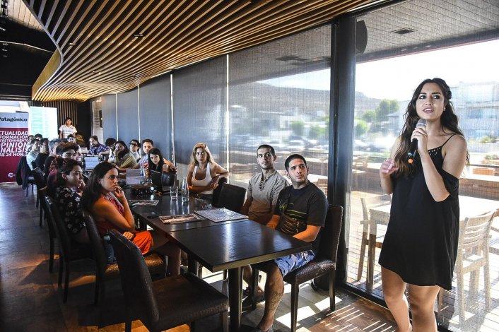 Que tu música suene fue el seminario de Flor Nieto que reunió a una treintena de músicos y personas vinculadas al panorama cultural regional.
