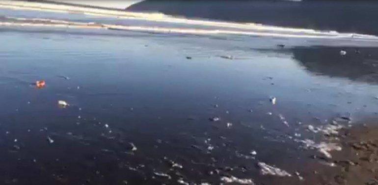 Un video deja al descubierto la cantidad de basura que se tira en la playa
