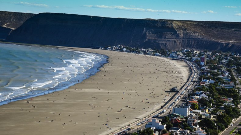Día de Playa en Rada Tilly  02.01.2016