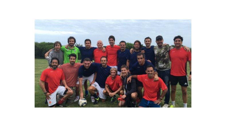 El divertido partido entre Marcelo Tinelli, Adrián Suar, Nacho Viale y Diego Latorre
