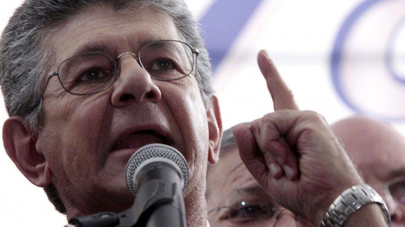 Henry Ramos es el flamante titular del nuevo Congreso venezolano.