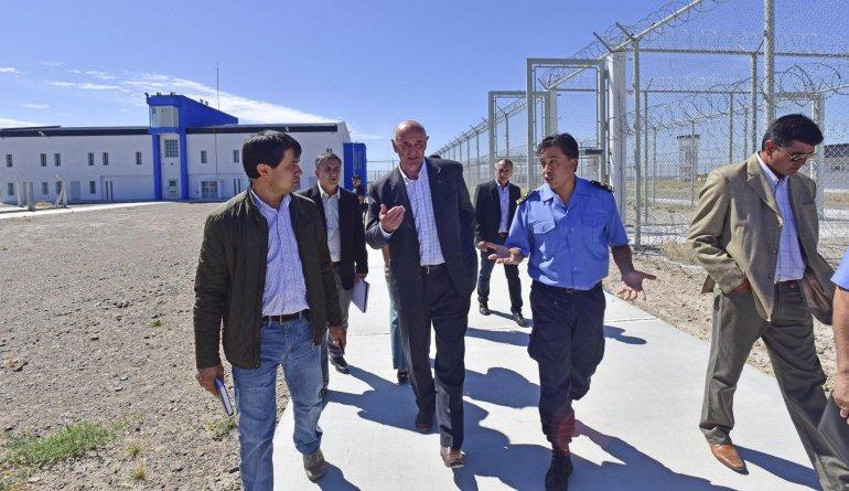El Gobierno quiere poner rápidamente en funcionamiento al Instituto Penitenciario de Chubut.