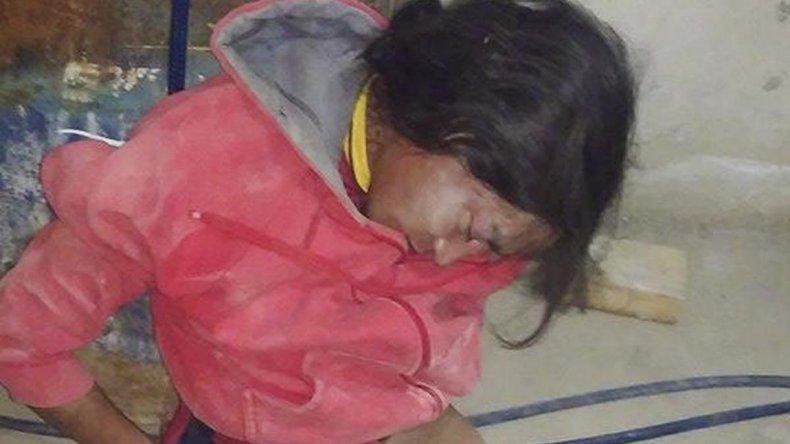 Caucaman fue duramente golpeado por familiares del dueño de la casa a la que había ingresado con fines de robo.