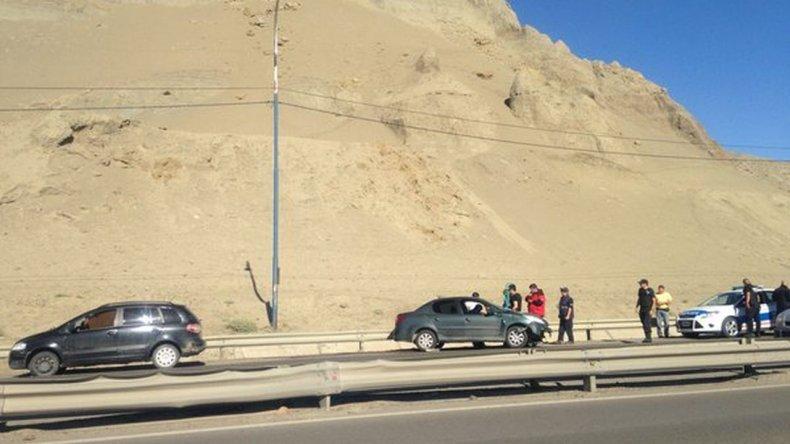 Choque en la zona de El Infernillo complicó el tránsito