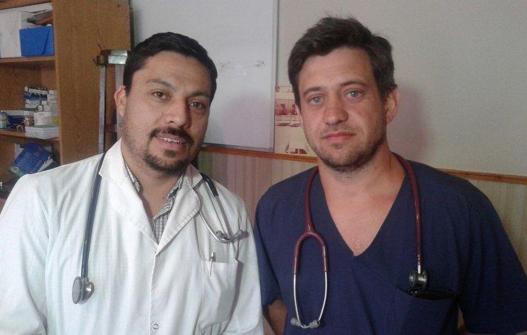 Un bebé se cayó a una pileta y lo revivieron dos médicos