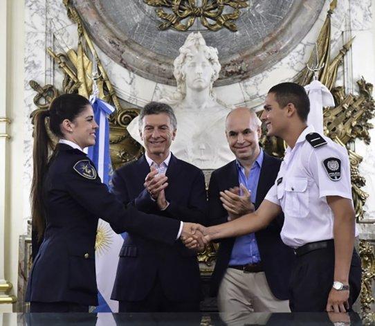 Macri y Larreta acordaron el traspaso de fuerzas de seguridad.