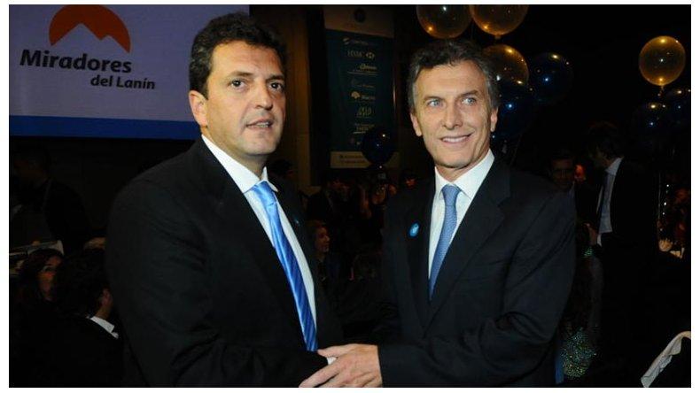 Otra vez Macri y Massa juntos
