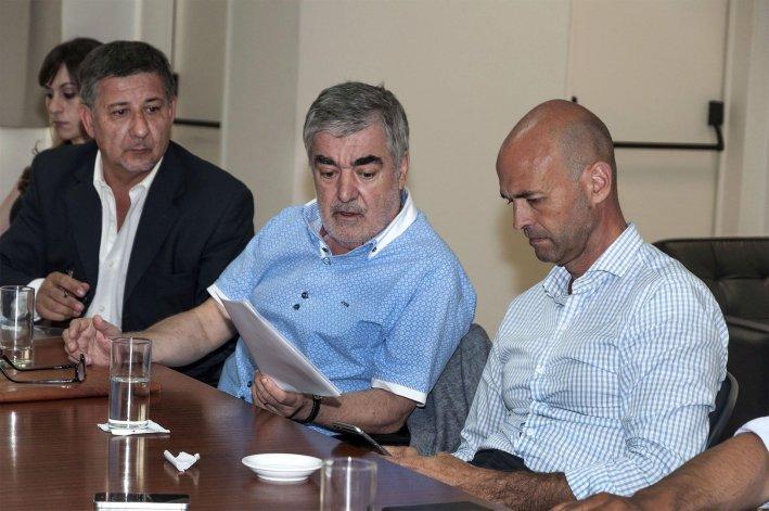 El gobernador destacó como muy positiva la reunión con el ministro de Transporte de Nación.