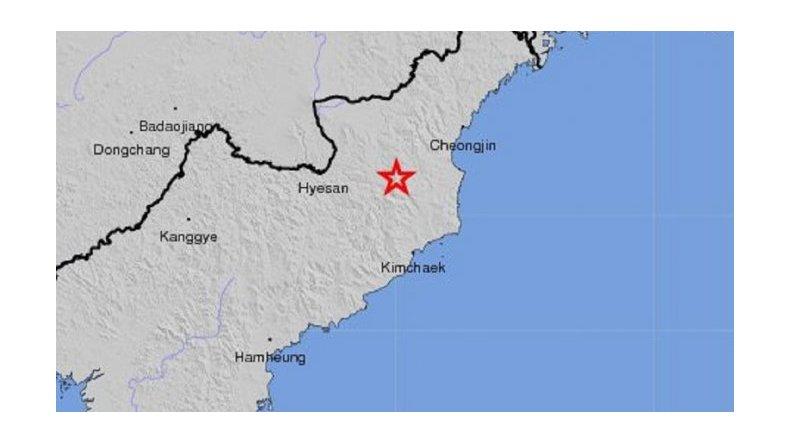 Prueba nuclear de Corea del Norte provocó un fuerte terremoto