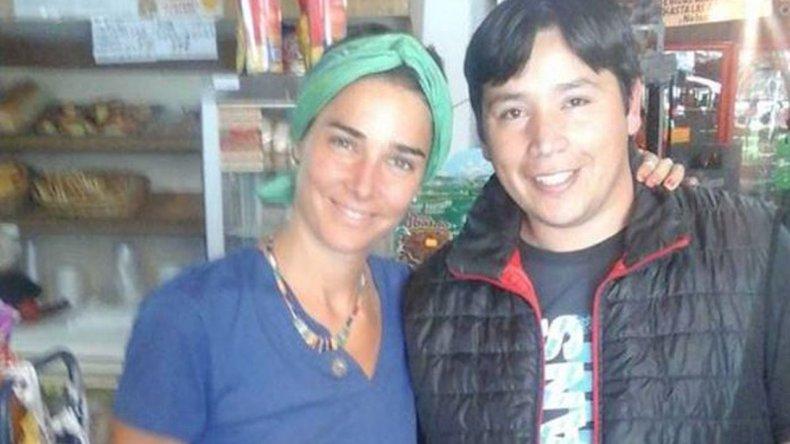 Juanita Viale pasea en la cordillera chubutense