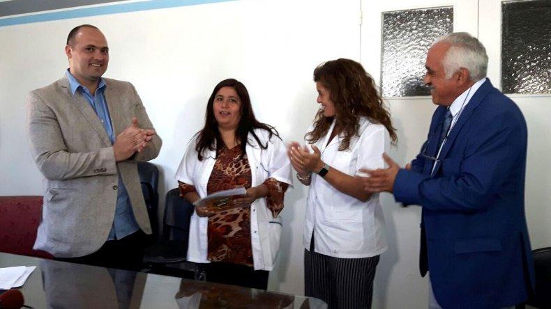 Lotería realizó un aporte solidario al Hospital de Comodoro