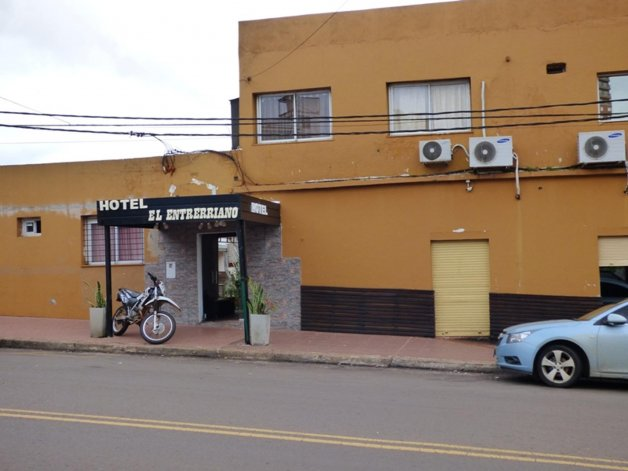 La detención se dio en el marco de un procedimiento realizado en el hotel El Entrerriano.