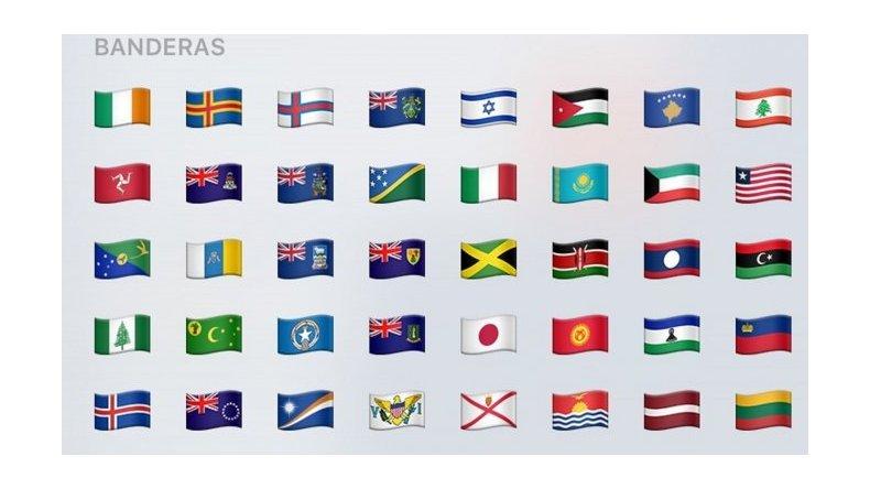 WhatsApp incluyó la bandera británica de Malvinas en sus emojis