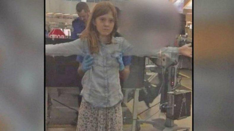 Denunció que manosearon a su hija de 10 años en un aeropuerto