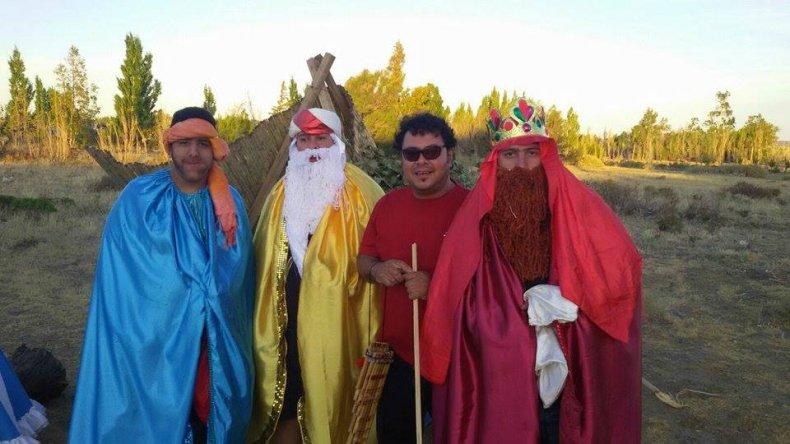 En Ciudadela celebraron Reyes con un pesebre viviente
