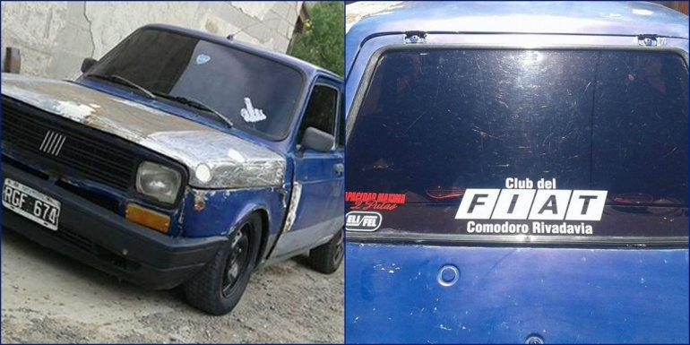 Piden ayuda para dar con un auto robado del Fuchs